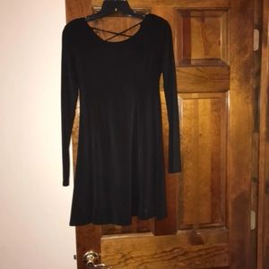 Black formal dress - size medium